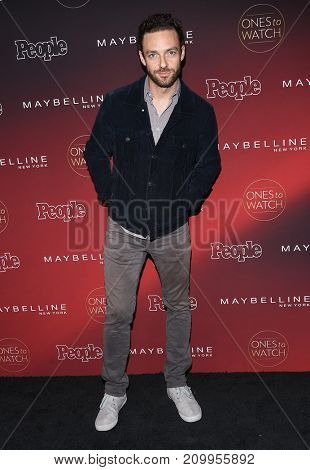 LOS ANGELES - OCT 04:  Ross Marquand arrives for the People's 'One's To Watch' Event on October 4, 2017 in Hollywood, CA