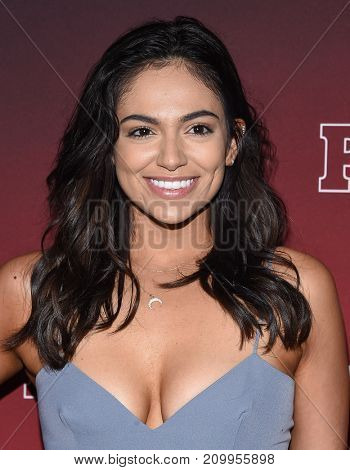 LOS ANGELES - OCT 04:  Bethany Mota arrives for the People's 'One's To Watch' Event on October 4, 2017 in Hollywood, CA