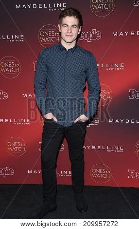 LOS ANGELES - OCT 04:  Graham Patrick Martin arrives for the People's 'One's To Watch' Event on October 4, 2017 in Hollywood, CA