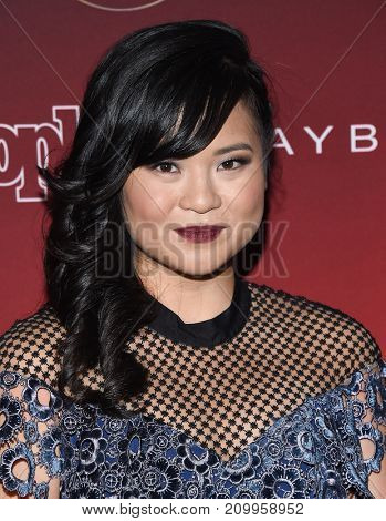 LOS ANGELES - OCT 04:  Kelly Marie Tran arrives for the People's 'One's To Watch' Event on October 4, 2017 in Hollywood, CA