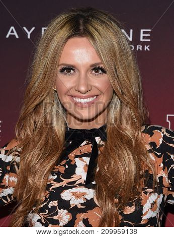 LOS ANGELES - OCT 04:  Carly Pearce arrives for the People's 'One's To Watch' Event on October 4, 2017 in Hollywood, CA