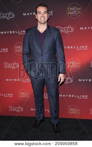 LOS ANGELES - OCT 04:  Jeff Meacham arrives for the People's 'One's To Watch' Event on October 4, 2017 in Hollywood, CA