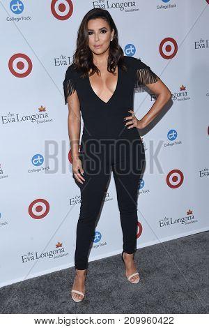 LOS ANGELES - OCT 12:  Eva Longoria arrives for the Eva Longoria Foundation Dinner on October 12, 2017 in Beverly Hills, CA