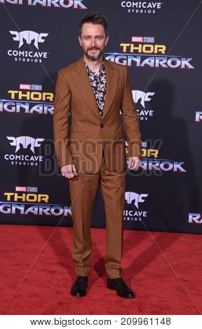 LOS ANGELES - OCT 10:  Chris Hardwick arrives for the