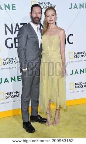 LOS ANGELES - OCT 09:  Kate Bosworth and Michael Polish arrives for the 'Jane' Los Angeles Premiere on October  9, 2017 in Hollywood, CA