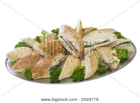 Catering Lunch Sandwich Platter