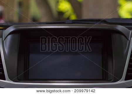 Screen Multimedia System In A Car