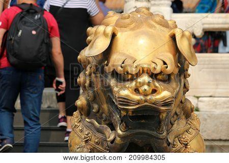 Scenes from inside the Forbidden City in Beijing