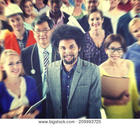 Diverse Diversity Ethnic Ethnicity Variation Colorful Concept