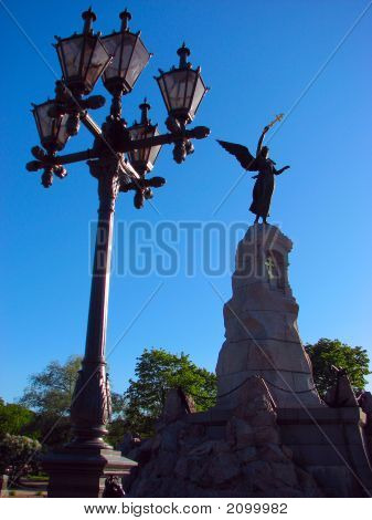 Russalka And Lamppost