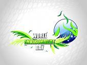 illustration for world environment day celebration poster