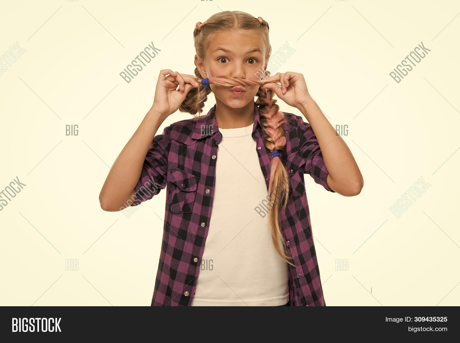 Fine Having Fun Facial Image Photo Free Trial Bigstock Natural Hairstyles Runnerswayorg