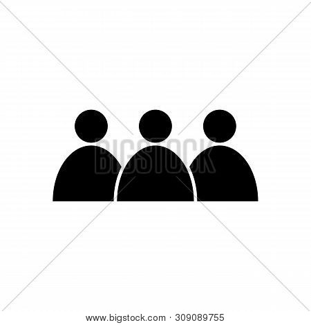 Population Icon In Trendy Design Style. Population Icon Isolated On White Background. Population Vec