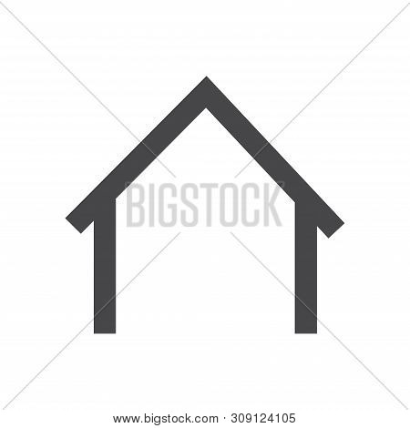 Home Vector Icon On White Background. Home Icon In Modern Design Style. Home Vector Icon Popular And