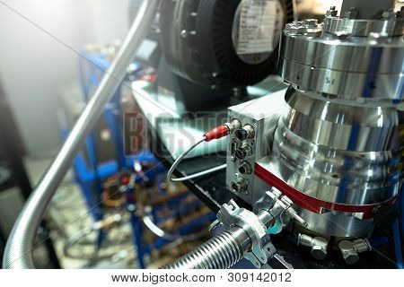 Close-up, Accessories And Parts Of The Synchrotron
