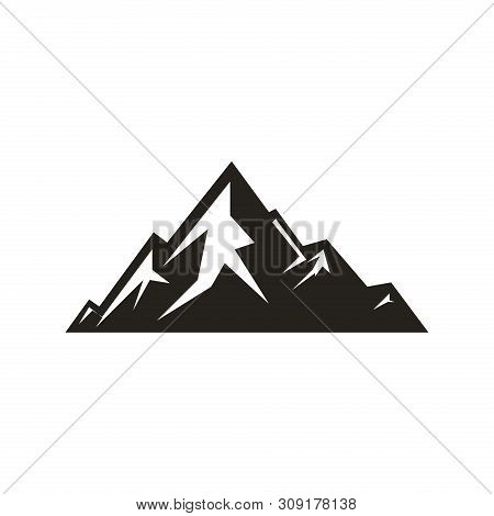 Mountain Icon Vector Vector Photo Free Trial Bigstock Media in category mountain icons. mountain icon vector vector photo