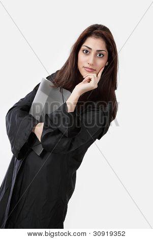 Female Lawyer Listening