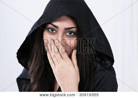 Laughing Asian Woman