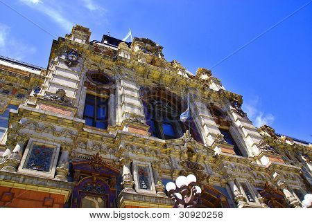 Building in Buenos Aires