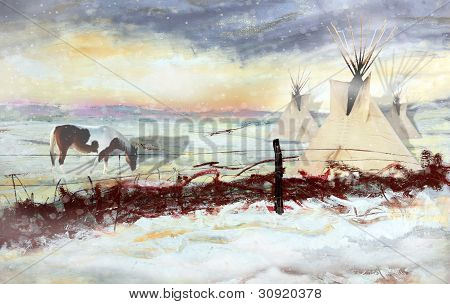 Native American Landscape