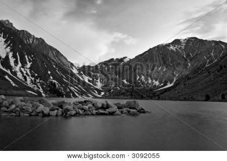 Dusk At Convict Lake