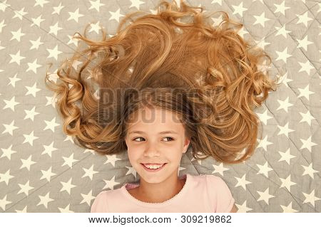 Child Curly Hairstyle Relaxing. Conditioner Mask Organic Oil Keep Hair Shiny And Healthy. Amazing Ha