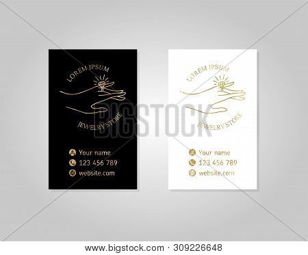 Vector Business Card Photo