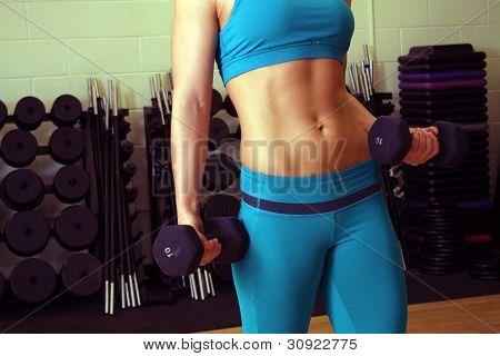 Athletic Female Torso (2)