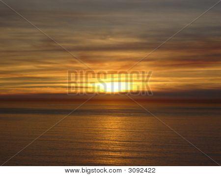 Cliffs Sunset