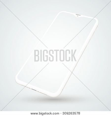 Smartphone Mockup For Technology