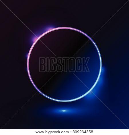 Shape Light Blue Pink Frame