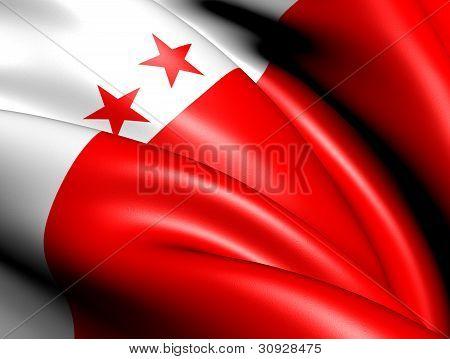 Flag Of Sion, Switzerland.