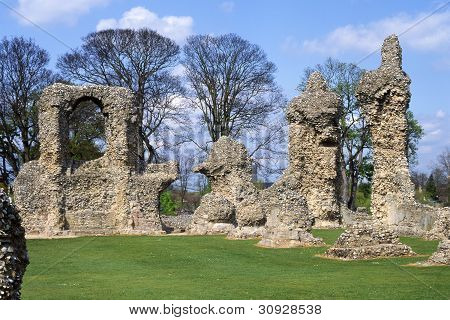 Abbey Ruins. Bury St. Edmunds. UK