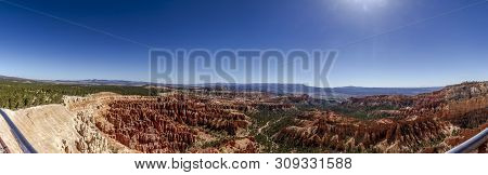 Bryce Canyon Panorama View In Utah, United States