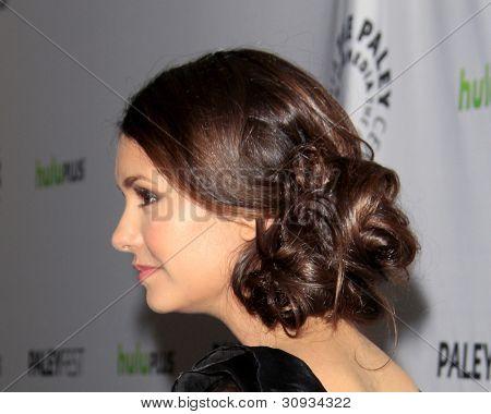 LOS ANGELES - MARCH 10: Nina Dobrev arrives at the