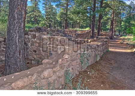 Elden Pueblo In Flagstaff Az Is The Site Of An Ancient Sinagua Village, Inhabited From About A.d. 10