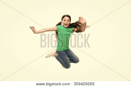 Leisure And Activity. Active Game For Children. Kid Captured In Motion. How Raise Active Kid. Free A