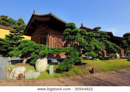 chinese garden house