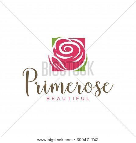 Prime Rose Beautiful For Salon Spa Fashion Logo Design Inspiration - Vector
