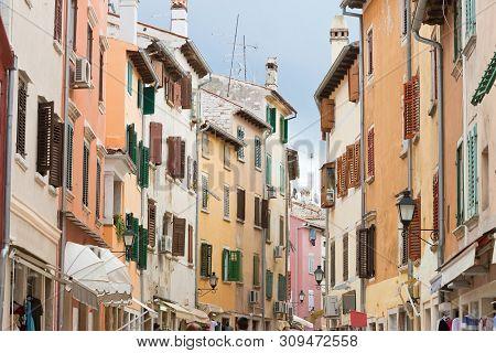 Rovinj, Istria, Croatia, Europe - Walking Through The Old Town Of Rovinj