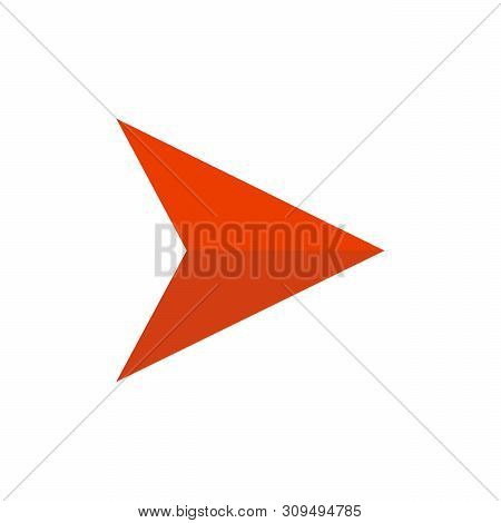 Right Arrow Icon Vector Isolated On White Background, Right Arrow Icon Eps10, Right Arrow Icon Vecto