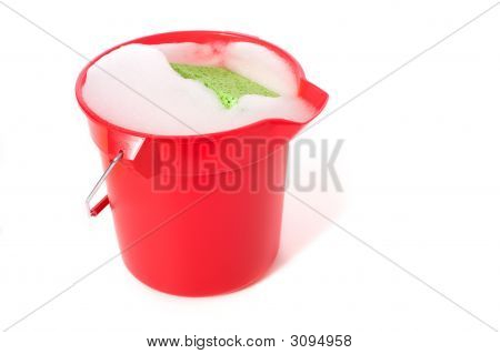 Bucket Of Soapy Water
