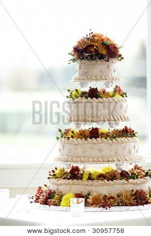 A cake from a wedding - please see my portfolio for many more wonderful and tasty cakes