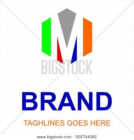 M Letter Logo Vector, M Letter Logo Design Vector Illustration Template, M Letter Logo Vector, Lette
