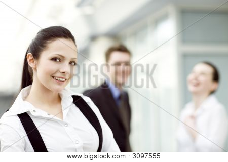 Atractive Young Woman
