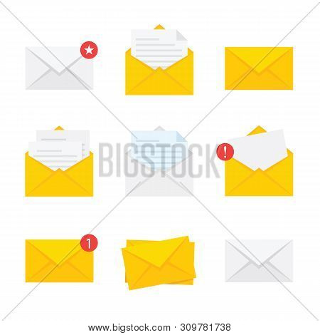 Set Easter Masks With Rabbit Ears Isolated On White Background - Stock Vector.