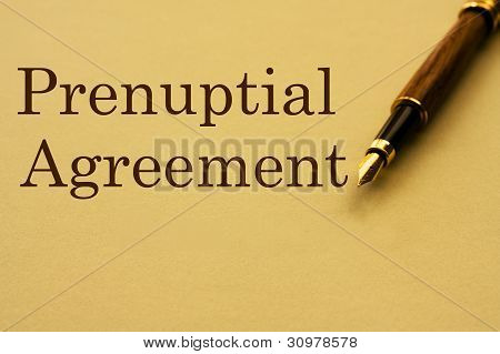 Getting A Prenuptial Agreement