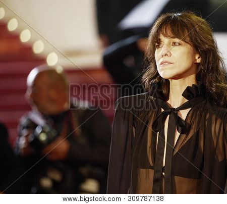 CANNES, FRANCE - MAY 18: Charlotte Gainsbourg attensd the screening of