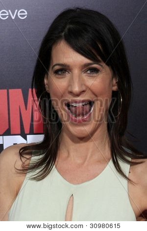 LOS ANGELES - MAR 13:  Perrey Reeves arrives at the