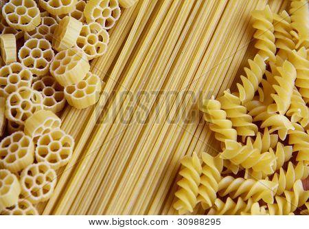 Three Kinds of Pasta